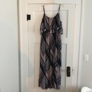 Lane Bryant pleated maxi dress 18/20